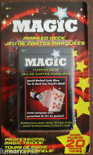 MARKED DECK MAGIC CARDS STAGE MAGICIAN OVER 20 PROFESSIONAL TRICKS EASY TO DO