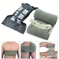 UK British Army Issue Bandage Trauma Aid Wound Field Sterile Dressing Israeli FF