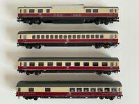ROCO HO , Set 4 carrozze TEE Rheingold  DB, cod.4267-4268-4270-4271