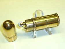 VINTAGE pocket Petrol Bullet Brass trench tipo Lighter-cartucce-ACCENDINO