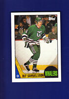 Ulf Samuelsson RC 1987-88 TOPPS Hockey #23 (EXMT+) Hartford Whalers