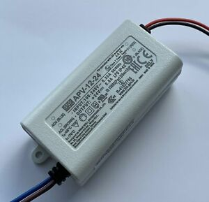 Mean Well APV-12-24 12W LED Driver IP42 24V DC