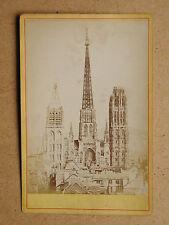 Rouen Cathedral. France. Albumen Photo (ref AP2-002)