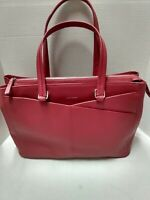 Cole Haan Leather Handbag Red Women American Airlines Exclusive