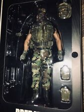 HOT TOYS 1/6 PREDATOR PRIVATE BILLY SOLE MOVIE MASTERPIECE ACTION FIGURE