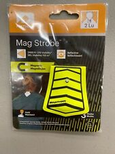 Nathan Mag Strobe Arrows LED Clip-on Light: Black/Safety Yellow