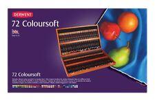Derwent Coloursoft 72 Boîte en bois