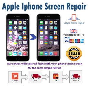 iPhone 4 5 6 7 8 S Plus Screen Repair / Replacement Service - Same Day Repair