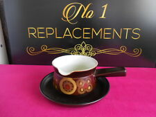 Denby Arabesque Gravy Boat and Stand / Drip Plate 2 Available