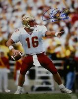 Chris Weinke Autographed 16x20 Vertical Passing Photo- JSA W Authenticated