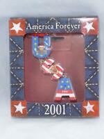 American Greetings Ornament America Forever USA 9/11 Christmas 2001
