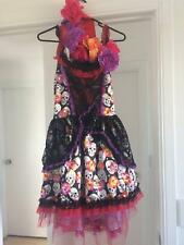Day of the Dead Fancy Dress Ladies Large