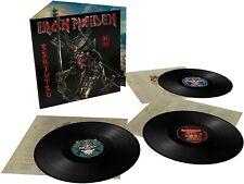 Iron Maiden Senjutsu Deluxe Heavyweight 180 gr. Triple Black Vinyl Nuovo