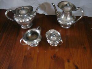 Silver Plate Tea & Coffee Set