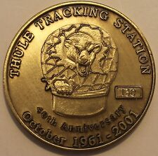 22nd SOPS Thule Tracking Station Thule Greenland #130 Air Force Challenge Coin