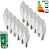 6x Lampadina LED Candela 8W E14 Lampada Bianco Caldo CALDA/FREDDA LUCE SES 230V