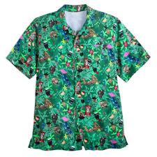 Disney's Tiki Mugs  Polynesian Resort Aloha Shirt for Men XL