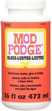 Mod Podge Waterbase Sealer, Glue and Finish (16-Ounce), CS11202 Gloss Finish New