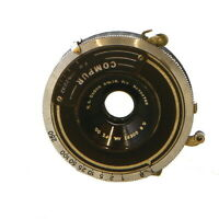 "Vintage C.P. Goerz 3 5/8"" F/8 W. A. Dagor in Compur Shutter - UG"