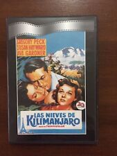 LAS NIEVES DE KILIMANJARO - DVD 115 MIN - SLIMCASE - BLANCO Y NEGRO - DEAPLANETA