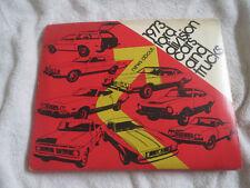 1973 ford mustang gran torino bronco ranchero ltd f-series press kit w  photos