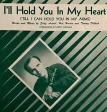 Ill Hold You In My Heart By Eddy Arnold 1947 Vintage Sheet Music Ebay