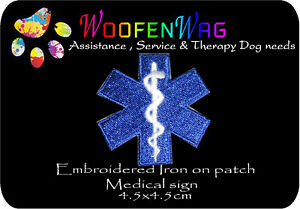 NEW paramedic's patches / medical awareness