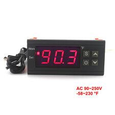 -58~230F Intelligent Temperature Controller KT1210W 90-250V/10A 110V 220V