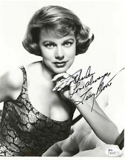 TERRY MOORE, ACTRESS, POSED NUDE IN PLAYBOY SIGNED 8X10 JSA AUTHEN. COA #R66857