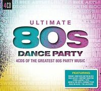 VARIOUS ARTISTS - ULTIMATE 80S DANCE PARTY NEW CD