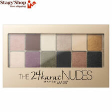 Maybelline 24 Karat Nudes Palette D'ombres À Paupières