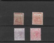 Nevis. # 5, 14, 19, 23a.    $ 245