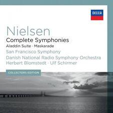 CARL AUGUST NIELSEN: COMPLETE SYMPHONIES/VIOLIN CONCERTO 6 CD NEW!