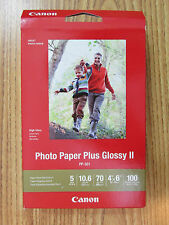 Canon Photo Paper Plus 100 Sheets Glossy II PP-301