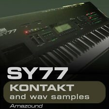 YAMAHA SY77 for KONTAKT 128 NKI + 2464 WAV SAMPLES 3.35GB 24BIT MAC PC MPC FL