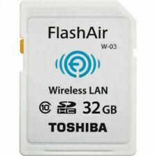 Toshiba FlashAir W-03 32 GB SDHC Class 10 WiFi Memory Card