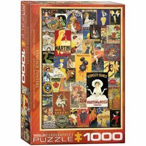 Eurographics 1000 Piece Jigsaw Puzzle - Vintage Posters  EG60000769