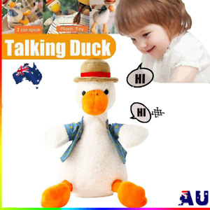 Talking Duck Funny Plush Toy Repeats What You Say Mimicry Toy Pet Kids Gift New