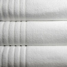 NEW LUXURY 2 PIECES 100% COTTON WHITE THE EXTRA LARGET BATH SHEETS 90 * 186cm