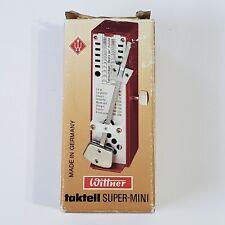 Wittner TAKTELL SUPER-MINI METRONOME--German made--40-208 BPM--NEW in orig. box!