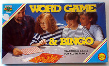 VINTAGE 1970's WORD GAME & BINGO  by PADGETT BROTHERS A to Z LTD.
