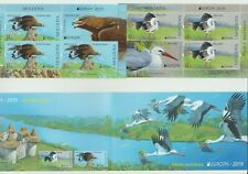 S36715 Moldova Europa Cept MNH 2019 Booklet Aves Birds