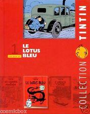 Livret TINTIN fascicule Le LOTUS BLEU pour tout savoir sur l'album booklet NEUF