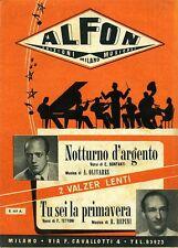 Bonfanti-Olivares# NOTTURNO D'ARGENTO - TU SEI LA PRIMAVERA #Edizioni Alfon 1950