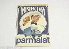 ADESIVO PARMALAT BISCOTTI MISTER DAY anni '80 Vintage / Old Sticker _ (cm 5 x 7)