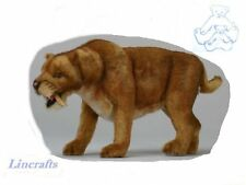 Large Sabre Tooth Tiger Plush Soft Toy by Hansa  4885