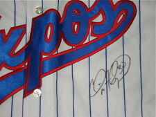 CLIFF FLOYD AUTOGRAPHED JERSEY (EXPOS) W/ PROOF!