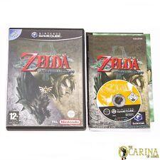 La Leyenda de Zelda: Twilight Princess-Nintendo Gamecube Juego Y Estuche PAL Reino Unido