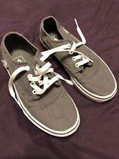 Toddler Boys Gray New Vans Skateboard Shoe Canvas 2