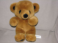 """CHOSUN STUFFED PLUSH TEDDY BEAR BROWN VINTAGE 1987 GUND STITCH 12"""""""